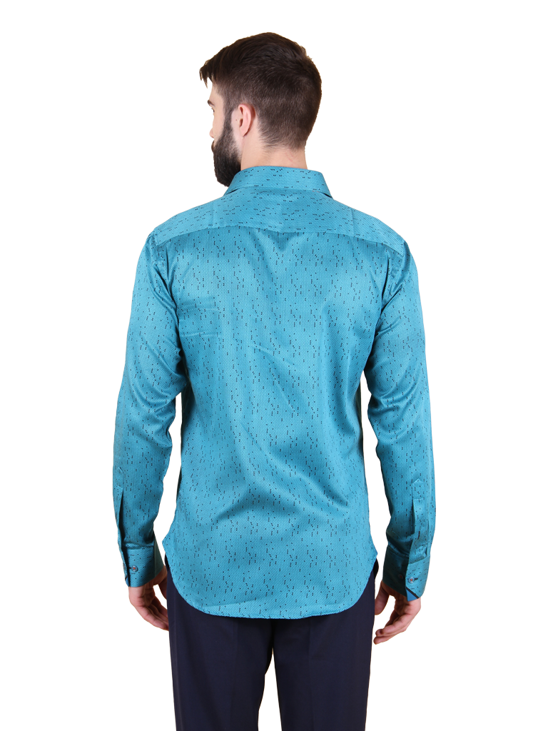thawed ice shirt fit back image