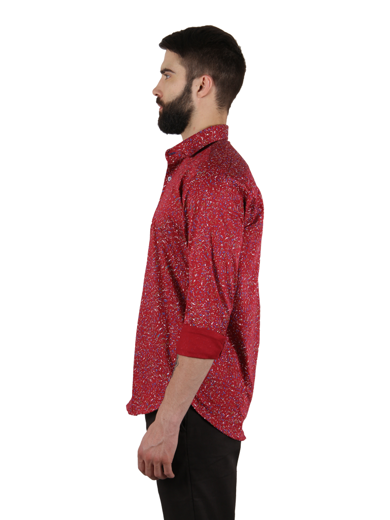 mixed salsa shirt fit right side image