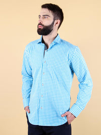 ocean current shirt model image
