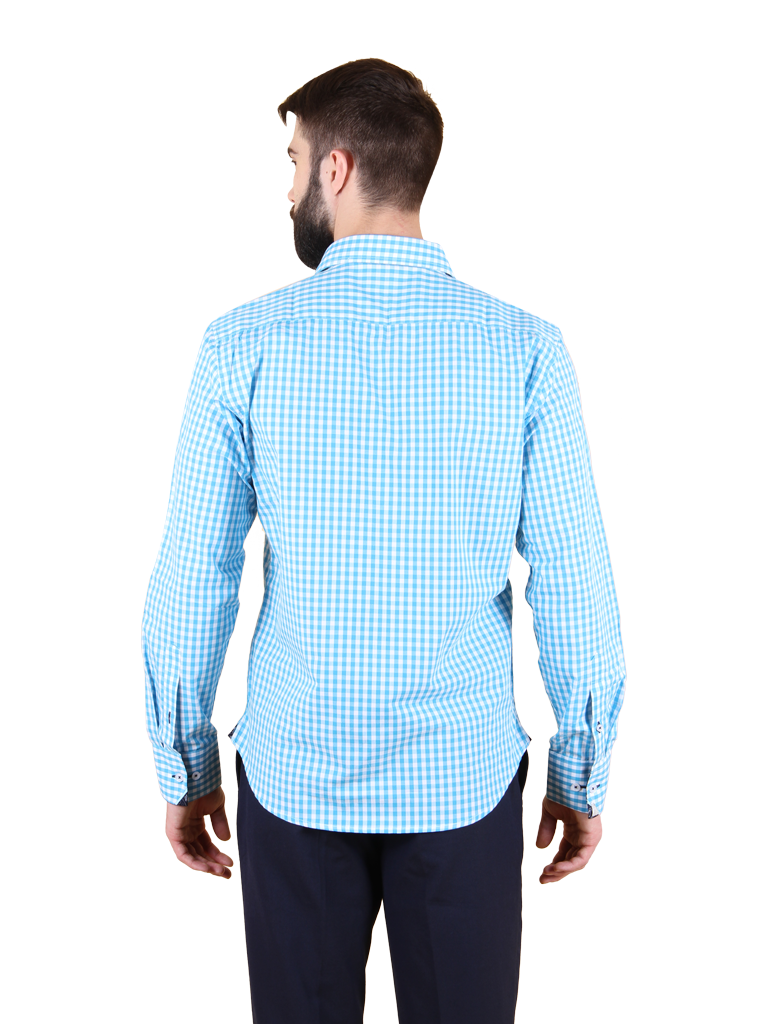 ocean current shirt fit back image