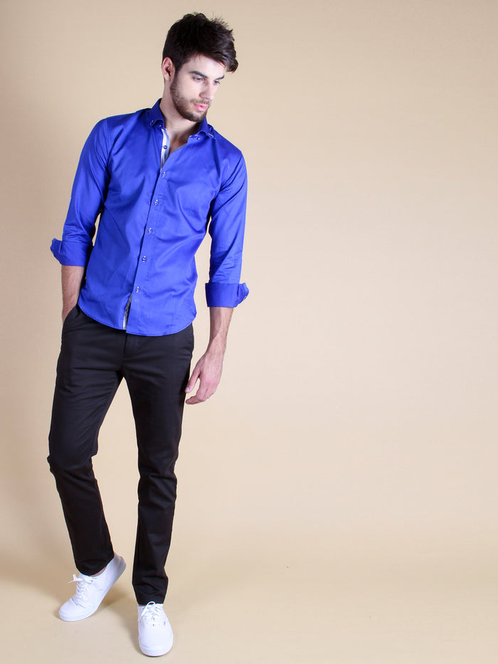 royal entrance shirt model walking image