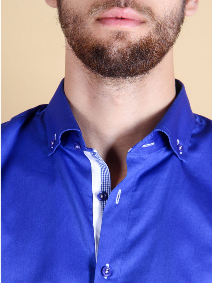 royal entrance shirt model collar image
