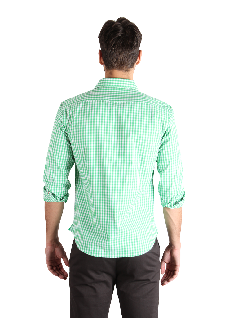 chopped pepper shirt fit back image