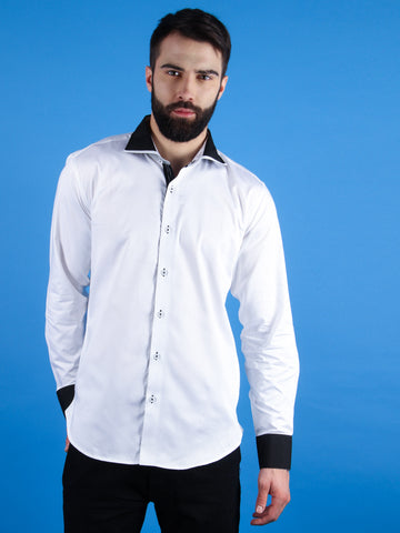 nouveau tux shirt model image