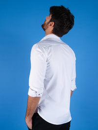 rising sun shirt model back image