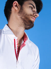rising sun shirt model collar image