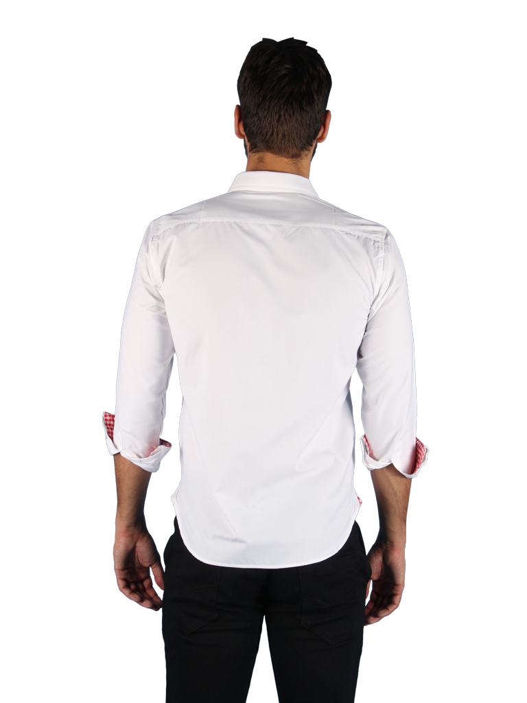 rising sun shirt fit back image