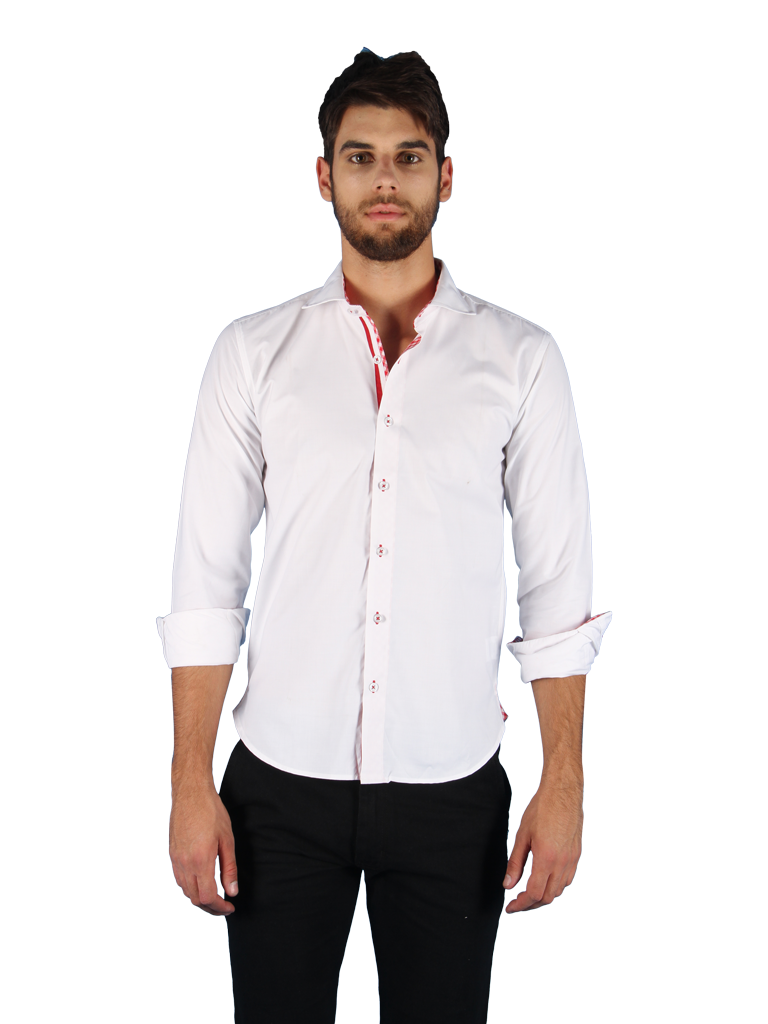rising sun shirt fit front image