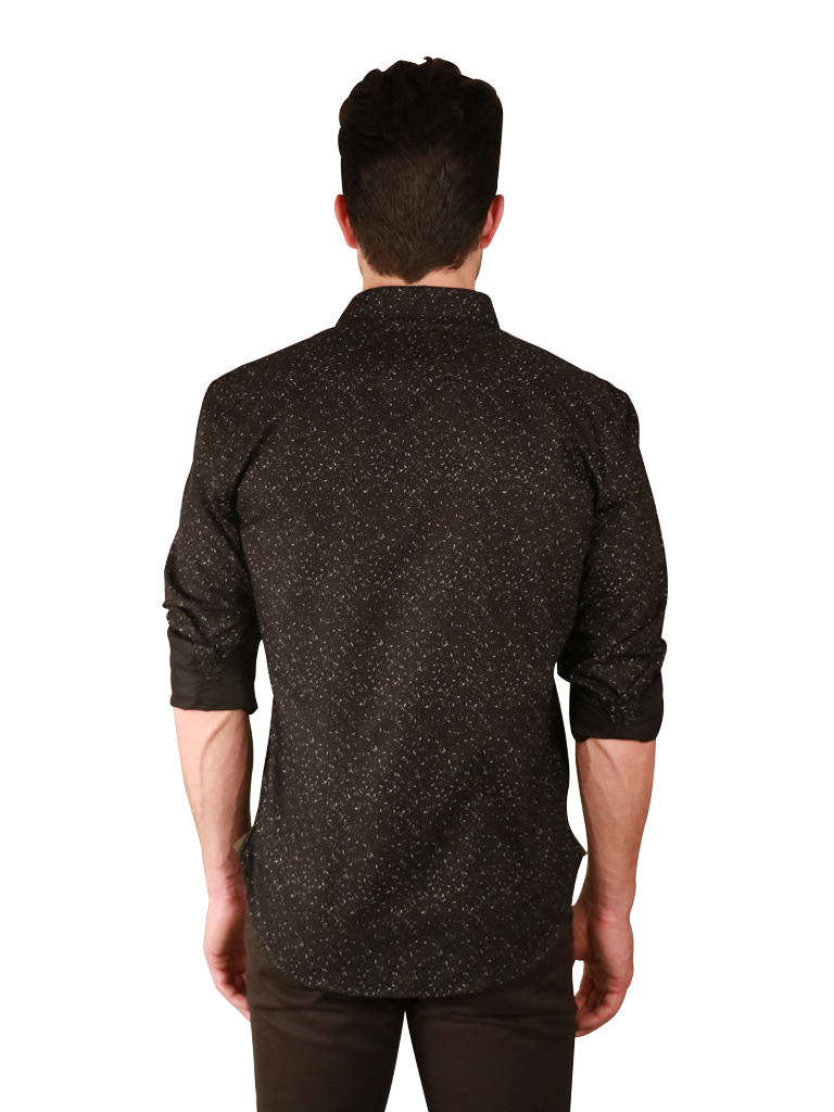 night sky shirt fit back image