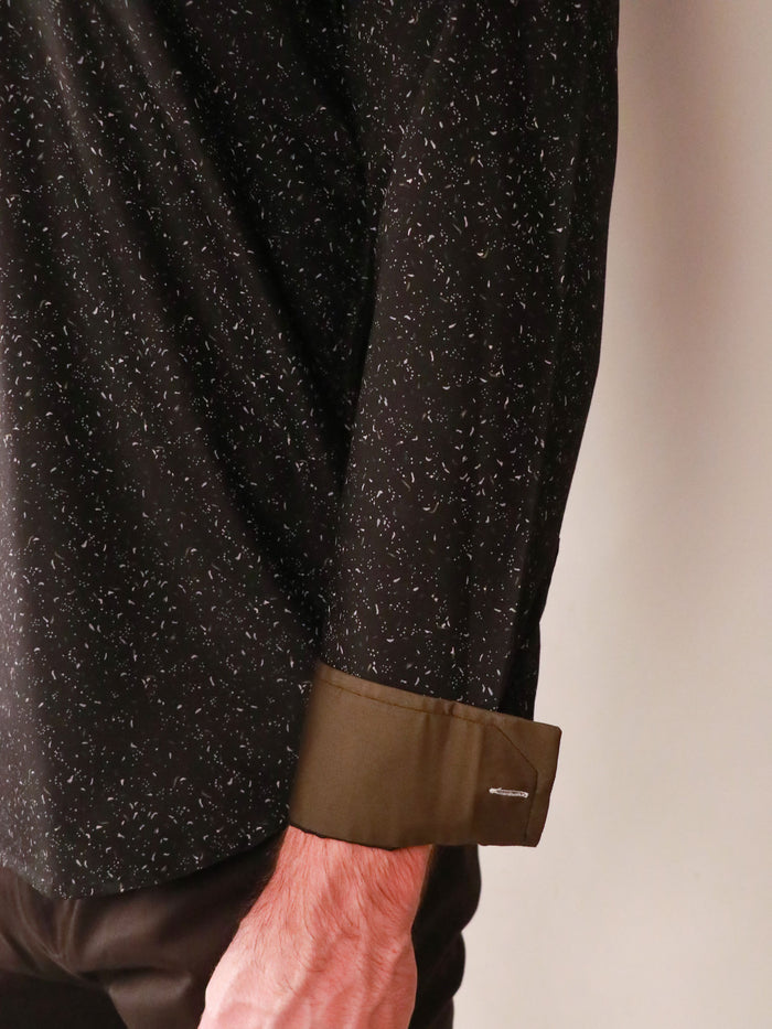 night sky shirt image of cuff