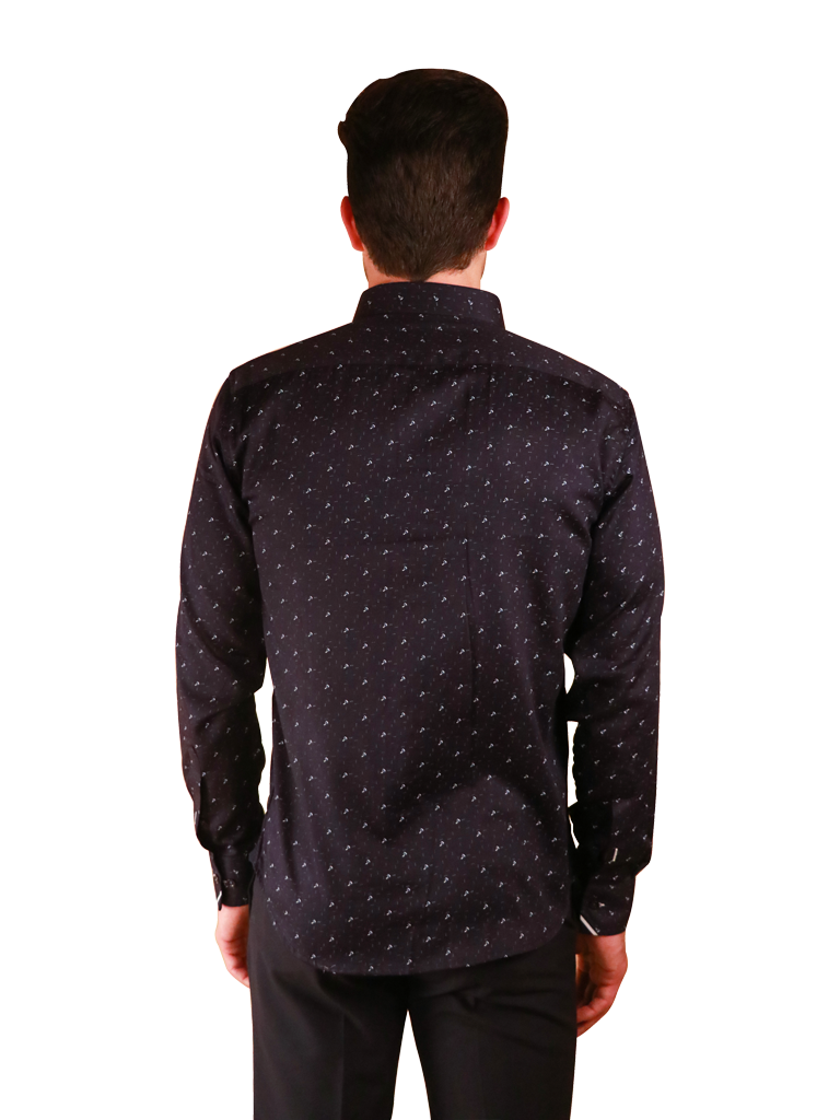 dark crossway shirt fit back image