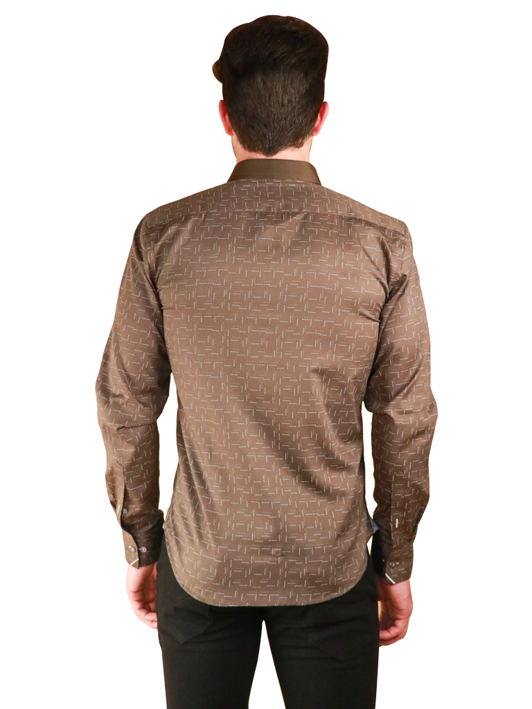 weave loom shirt fit back image