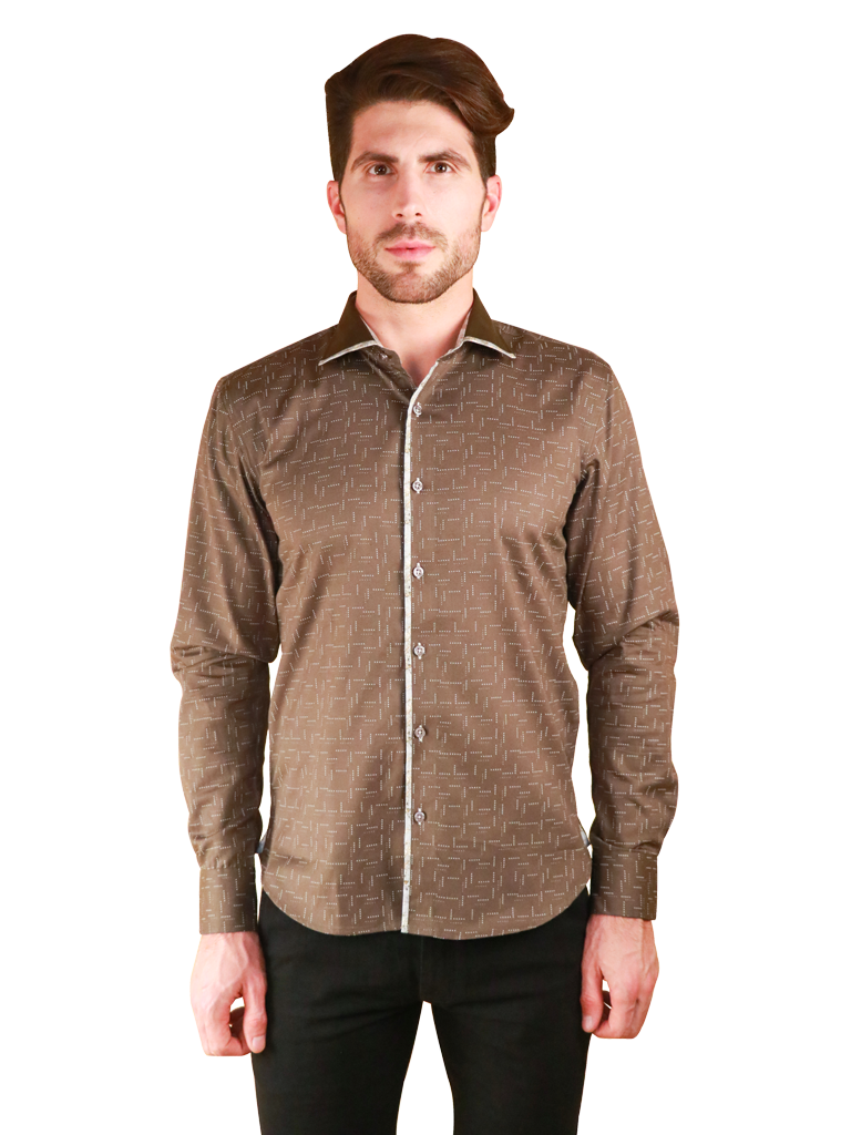weave loom shirt fit front image