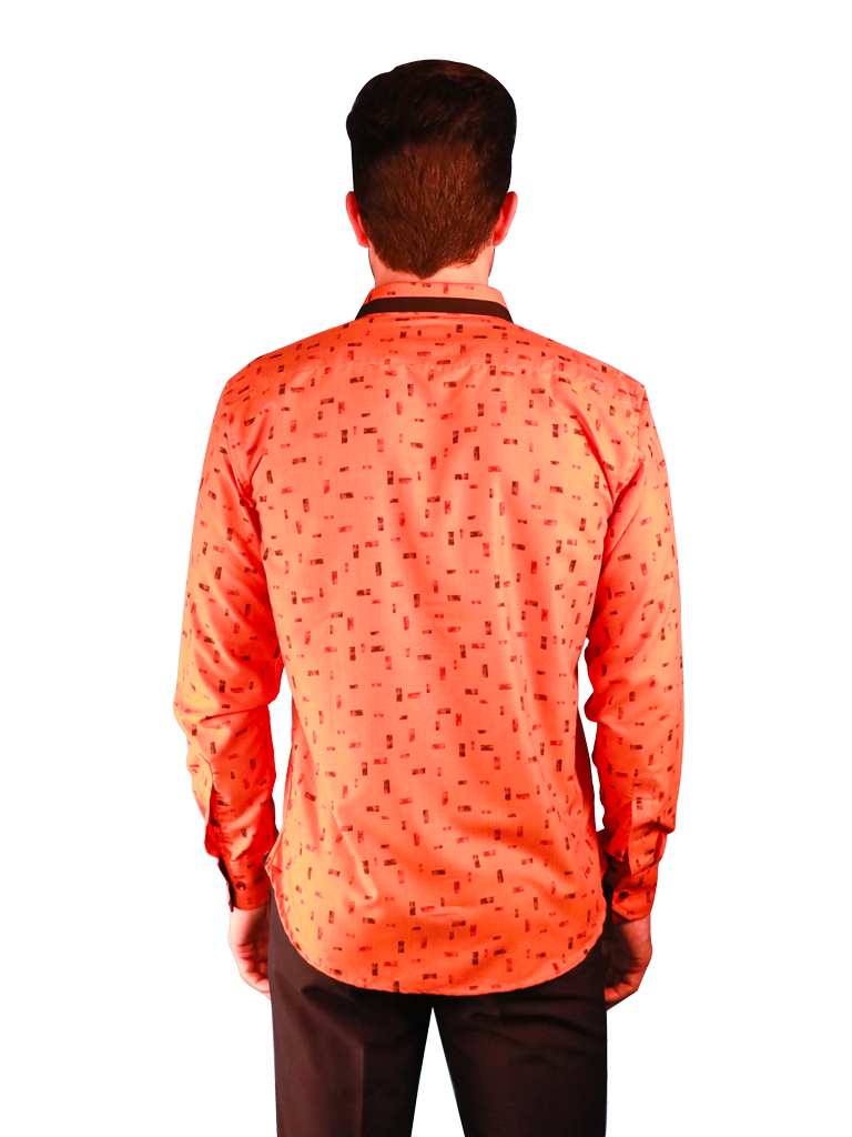 new orange shirt fit back image