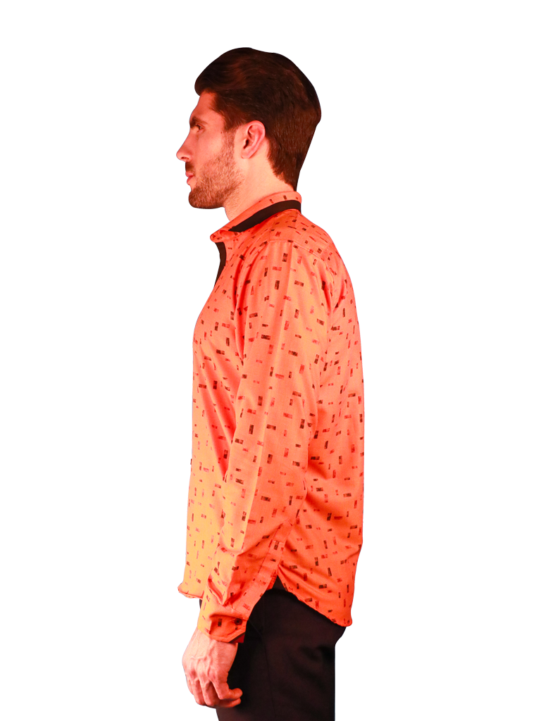 new orange shirt fit left image