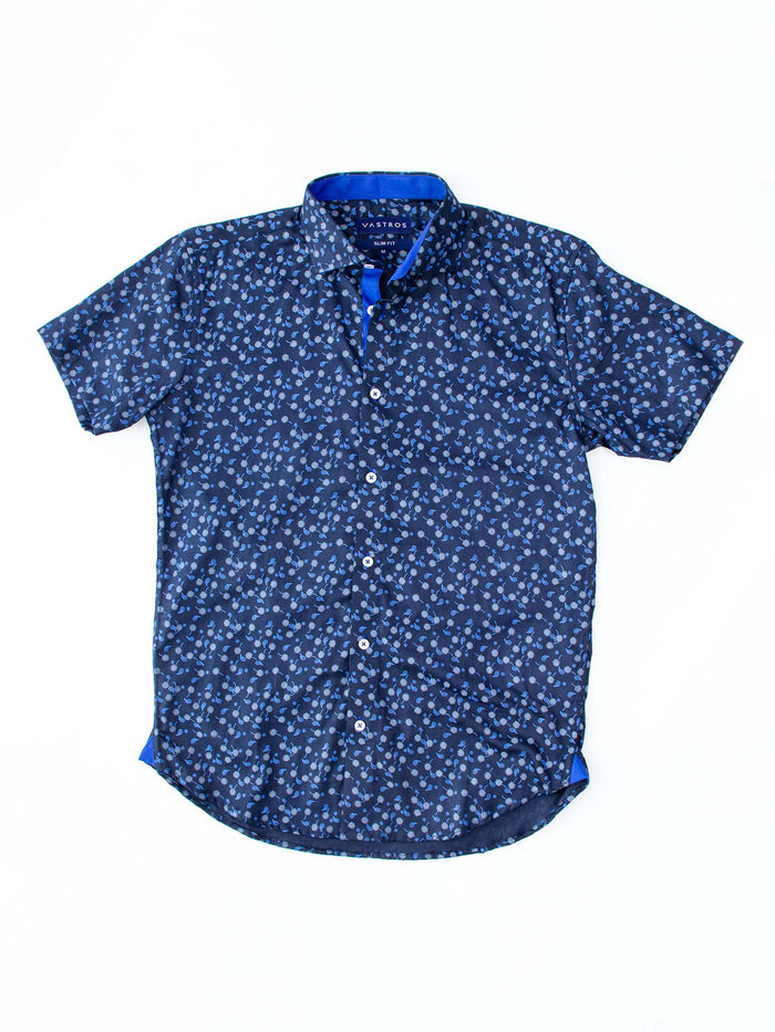 Navy Paisley Floral
