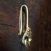 "The Lion ""El Leon"" Belt Hook Keychain"
