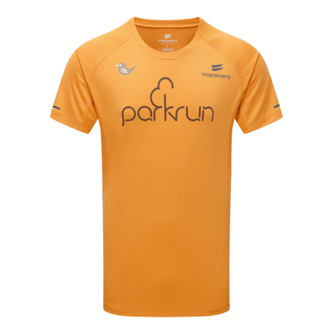 parkrun men's performance short sleeve t-shirt