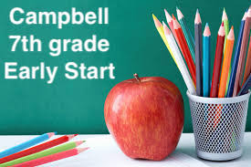 Campbell 7th Early Start *Deadline to order July 9*