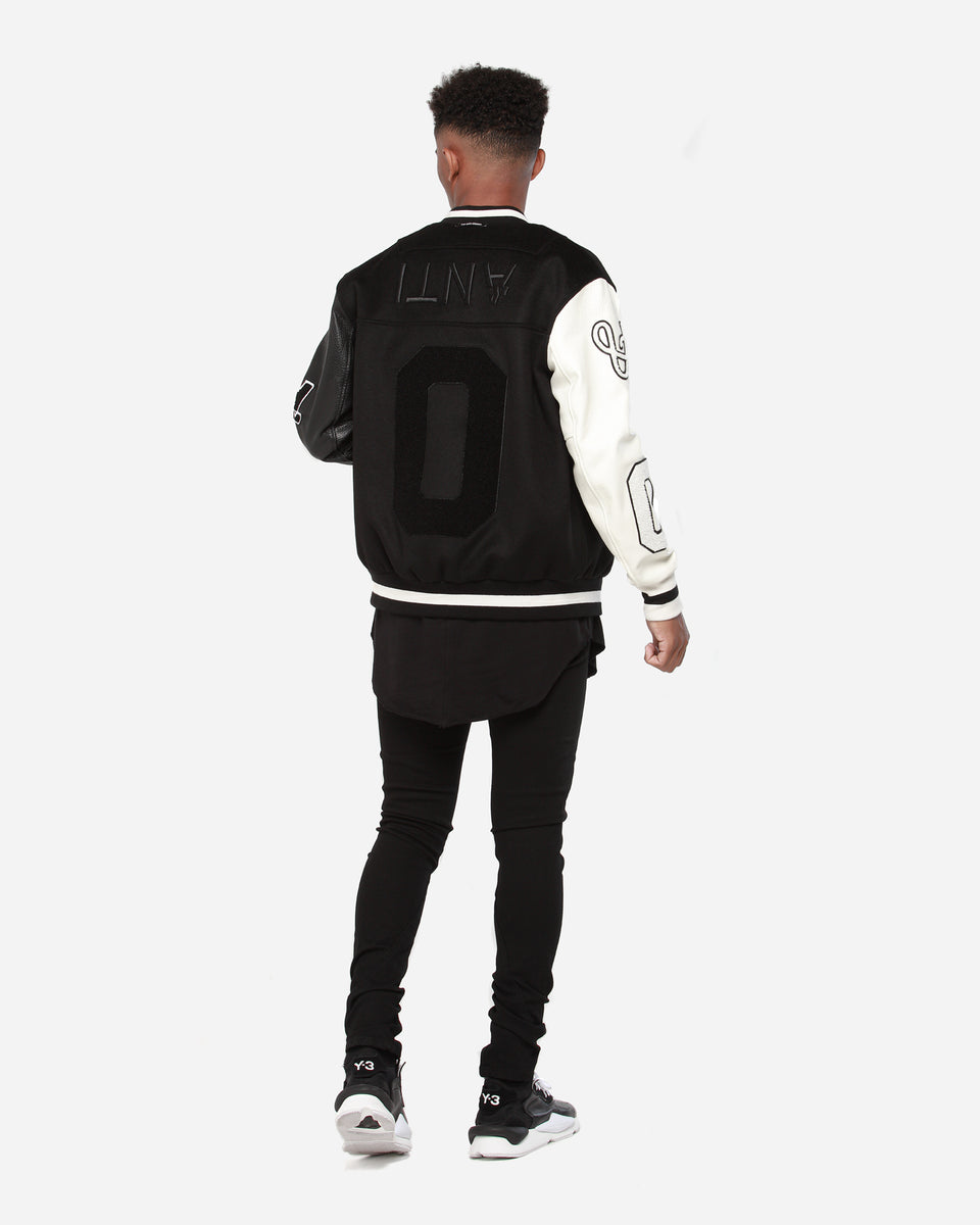 The Anti-Order Year Zero Varsity Jacket Black/White