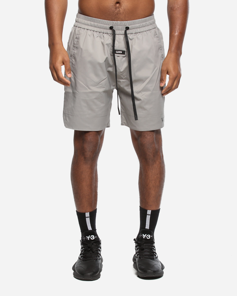 NEO-BASKETBALL SHORT - Ice Grey