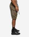 NEO MILITARY SHORT - Army Green/Black