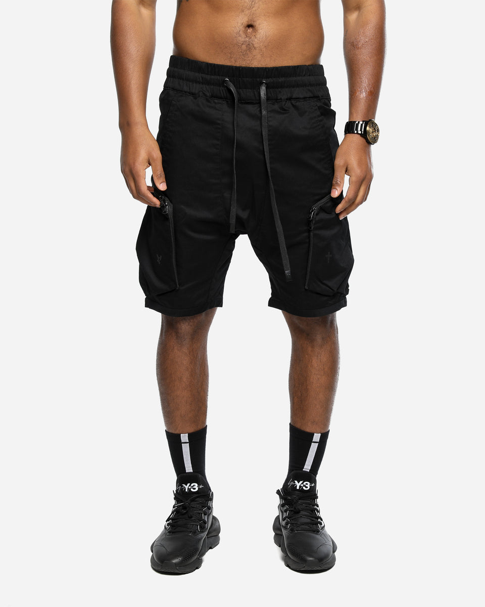 NEO MILITARY SHORT - Black/Black