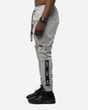 The Anti-Order Anti-Stripe Cargo Pant Ice Grey