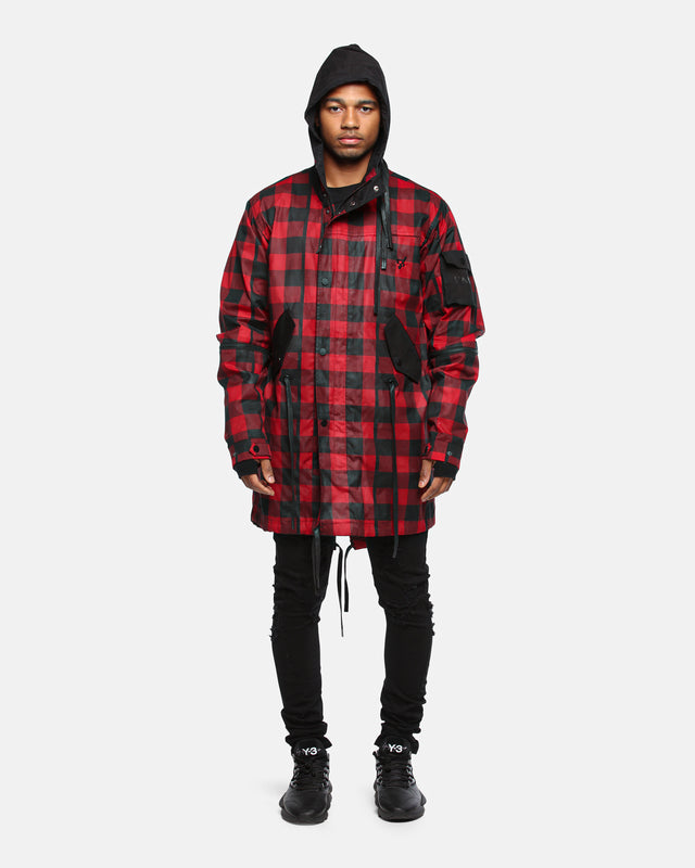 GOD X JACKET - Red/Black
