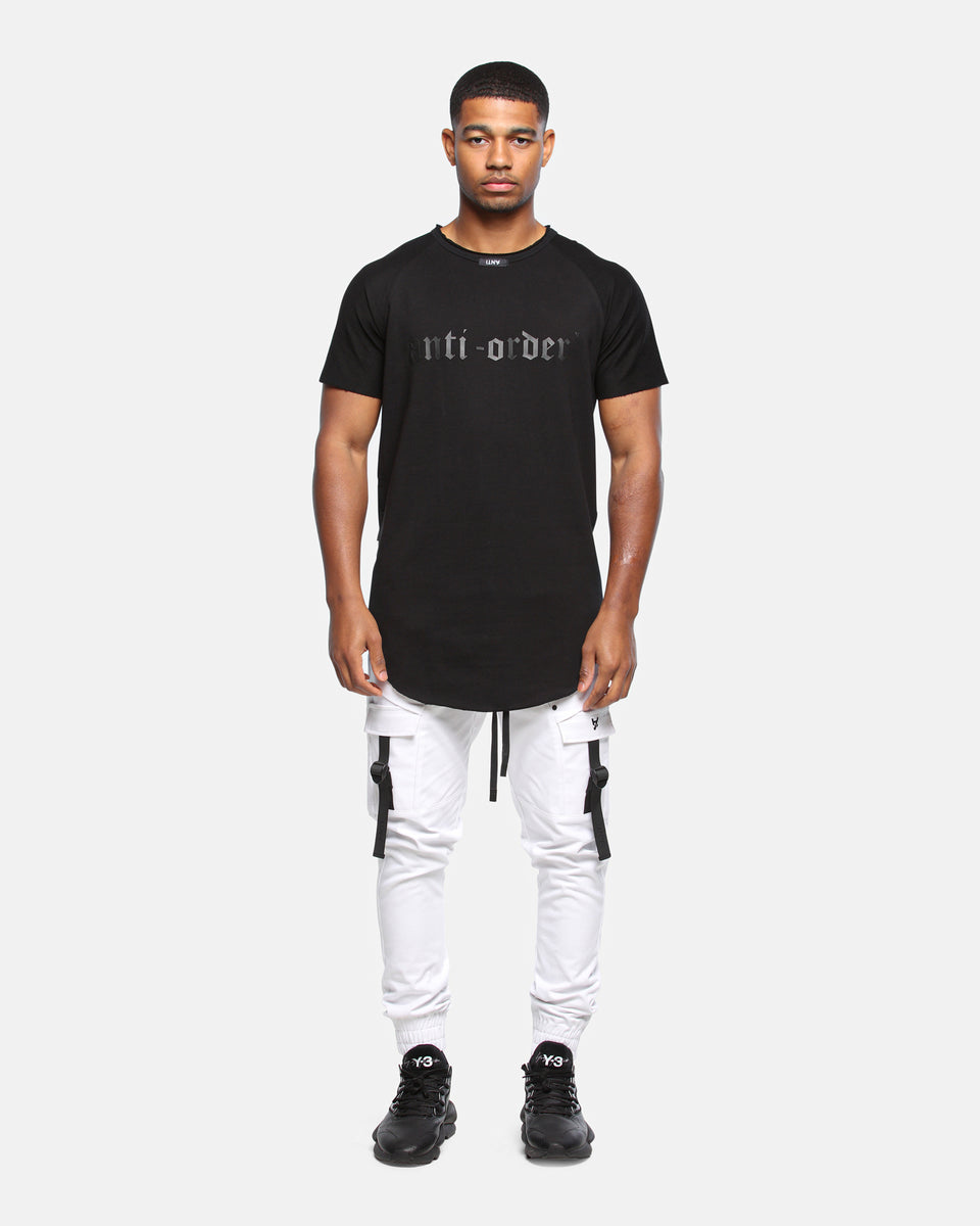 NON GOTHIC REGULATION TEE - Black/Black