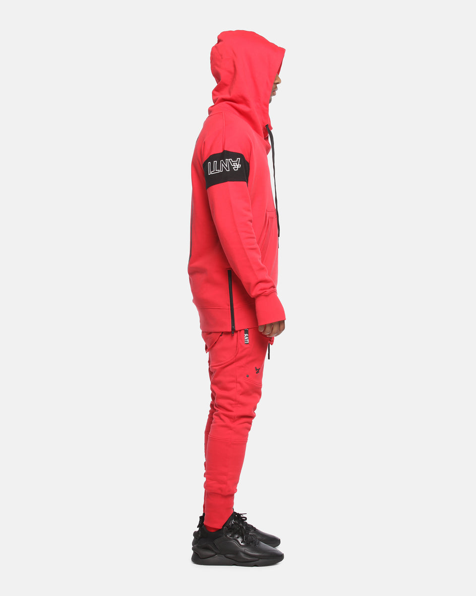 The Anti-Order Non-Primary Hoody Red