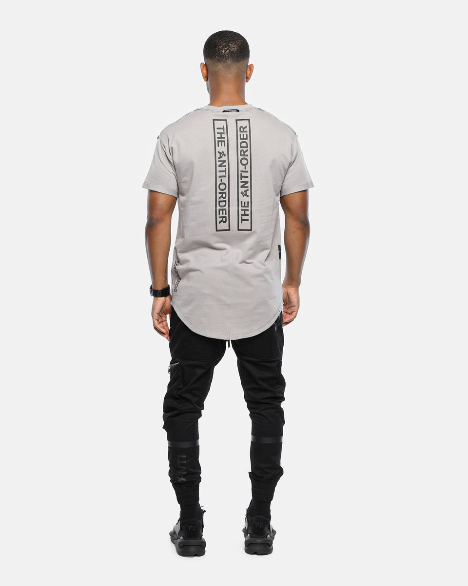 The Anti-Order XY Aesthetic Non Seam Tall Tee Ice Grey