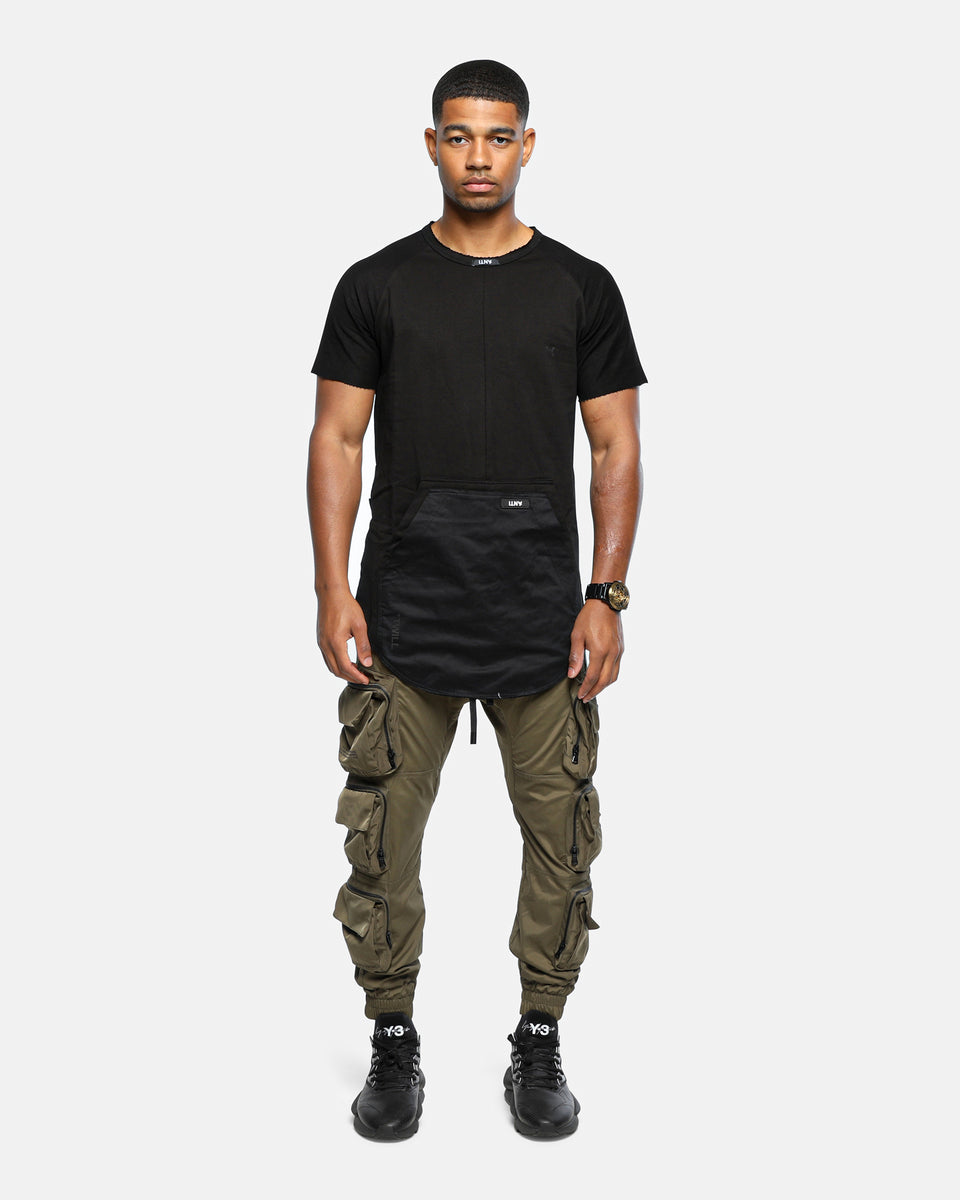 The Anti-Order Neo Military Tee Army Black/Black