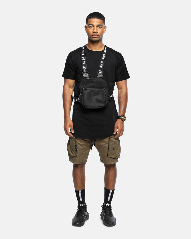 NON-MILITARY CHEST RIG - Black/3M