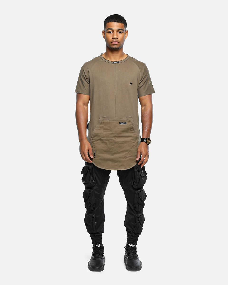 The Anti-Order Neo Military Tee Army Green/Black