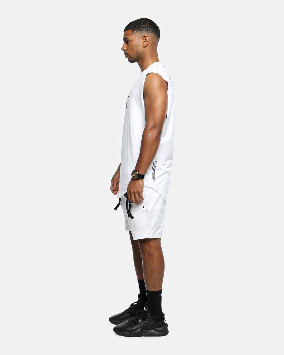 XY AESTHETIC OVERSIZED MUSCLE - White