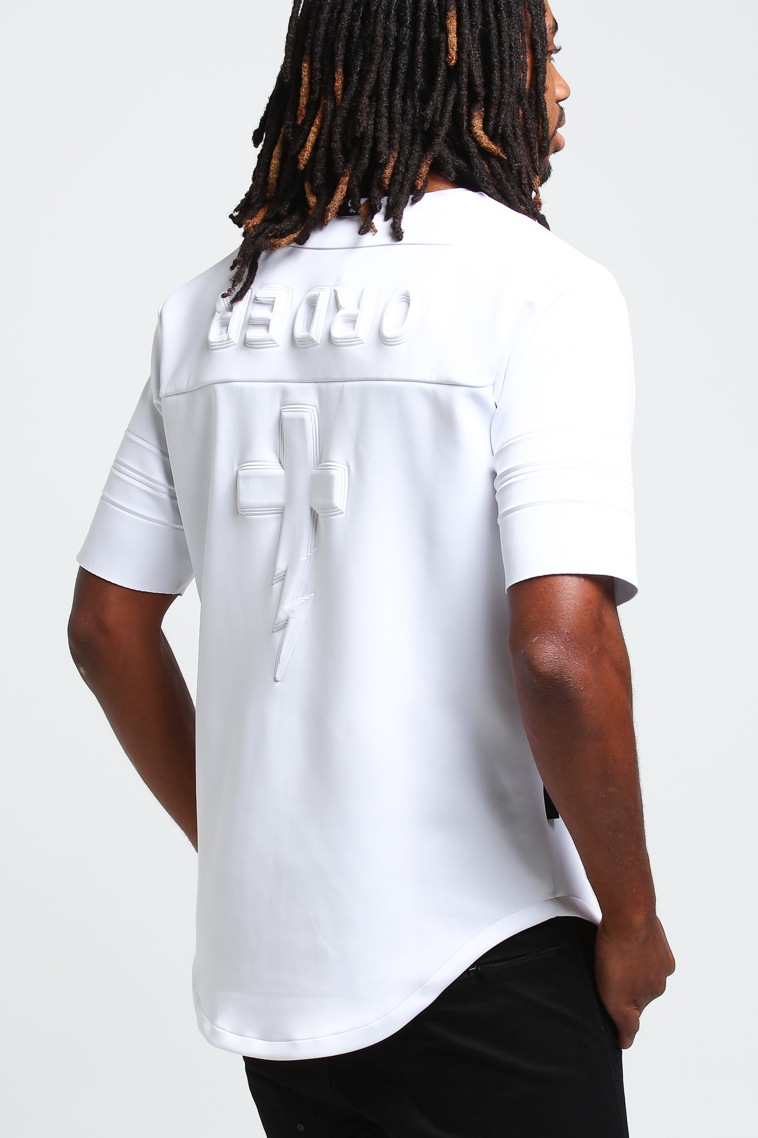 ANTI TEAM JERSEY TEE - White