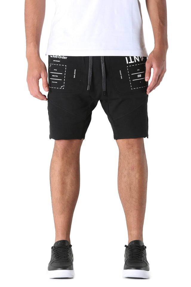 NON-TYPE SHORT - Black