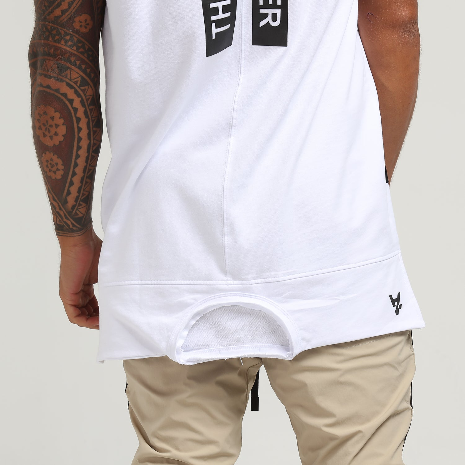 TALES TALL TEE - White