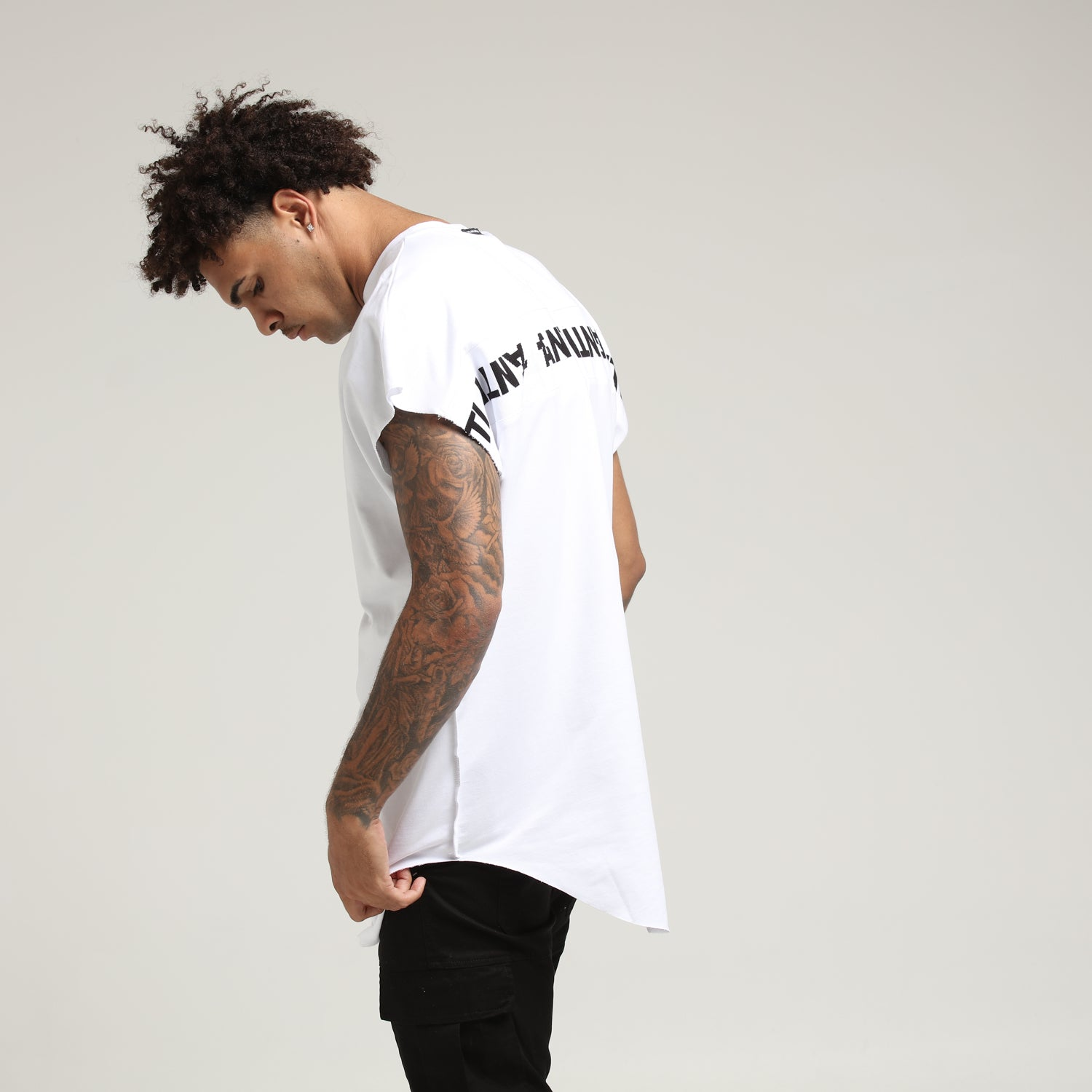 INTERSTATE BAT SWEAT - White