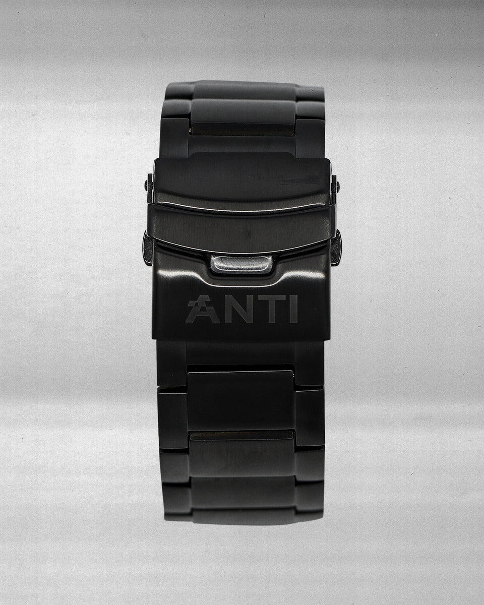 Non-Skeleton Watch - Black