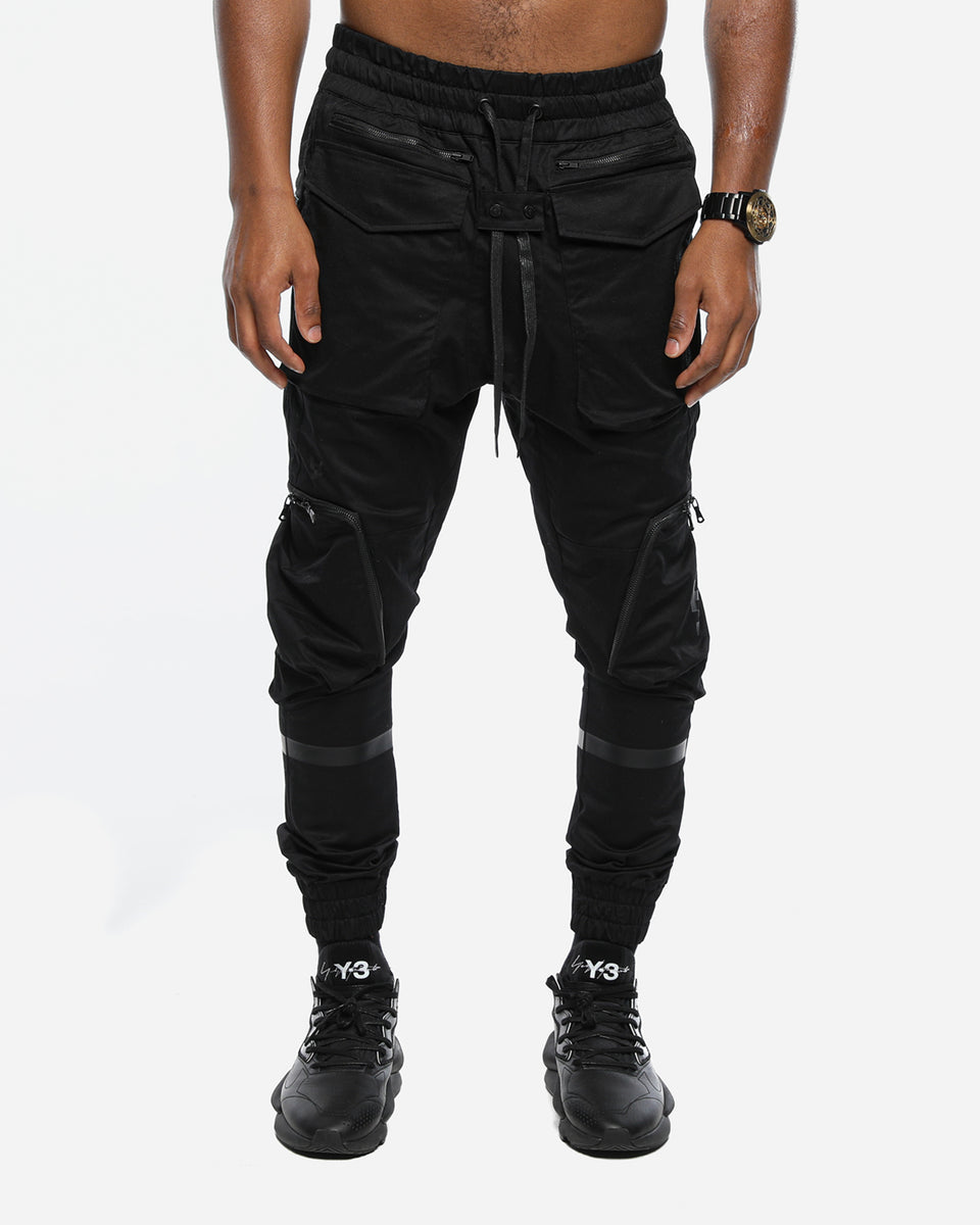 DISTOPIAN JOGGER - Black