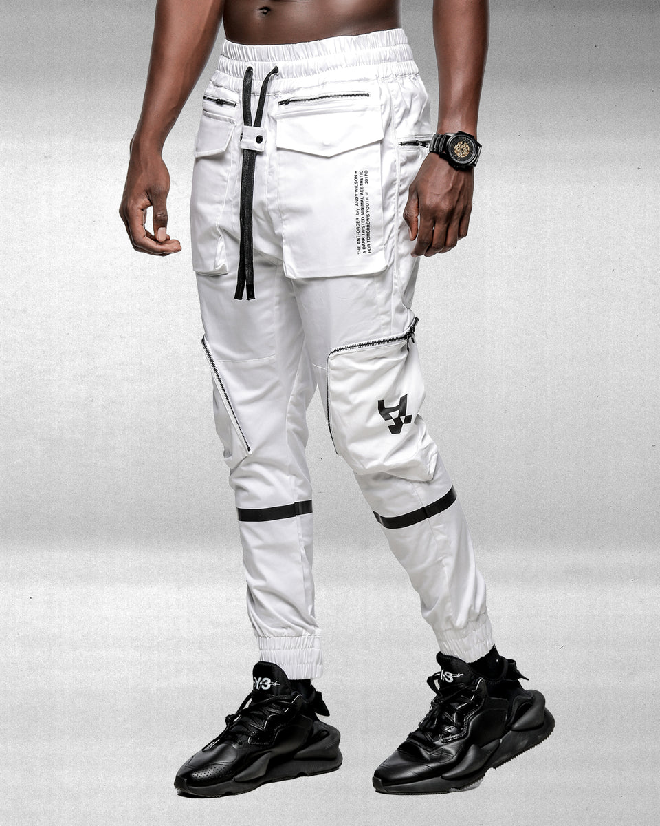 Distopian Jogger - White