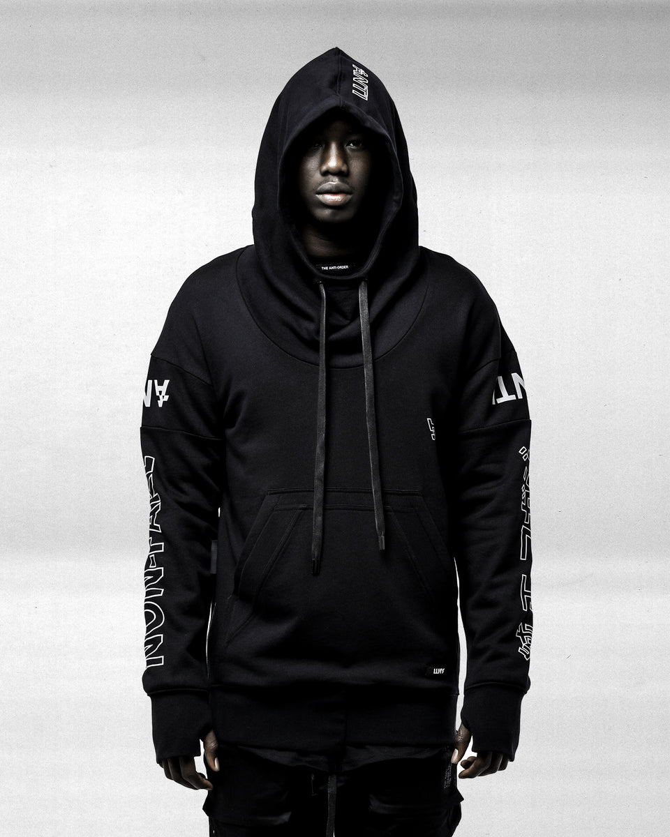 FUTURE FAKE HOODY - Black/3M