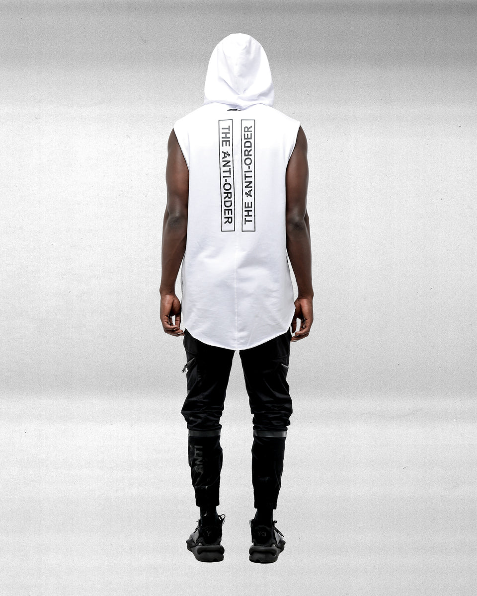 NON ALIGNMENT HOOD - White
