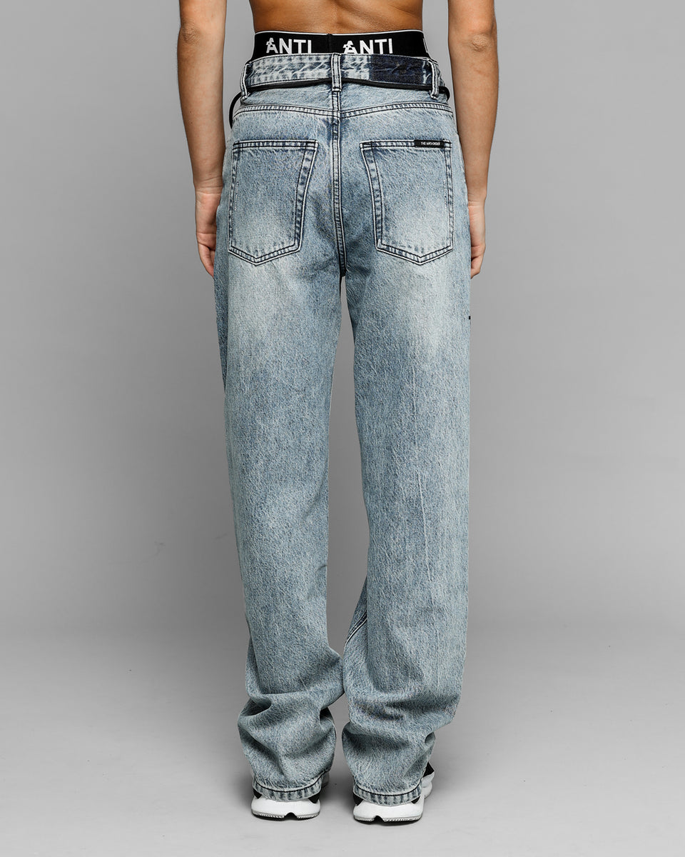 POST MODERN RELAXED JEAN - Bleached Blue