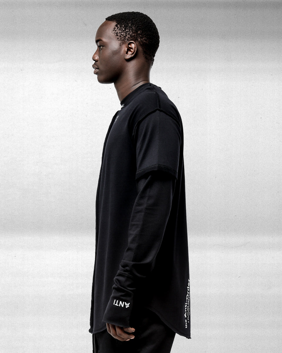 XY-AESTHETIC LS TEE - Black/3M