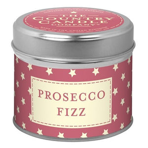 Prosecco Fizz Candle in a Tin