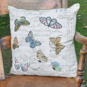 44 x 45cm Butterflies Design Cushion