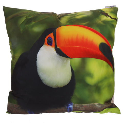 Tropical Toucan Cushion